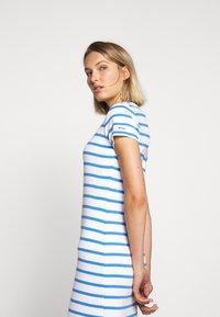 Polo Ralph Lauren - PIMA - Žerzejové šaty - white/rivera blu - 3