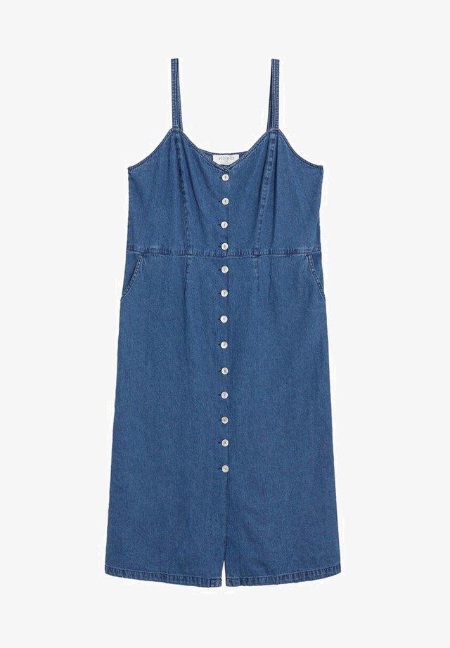 JEANNE - Denim dress - dunkelblau