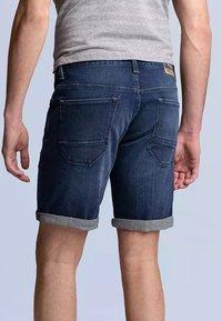 PME Legend - NIGHTFLIGHT - Denim shorts - dark used comfort - 1