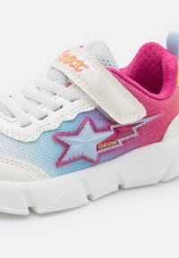 Geox - ARIL GIRL - Sneakers basse - white/multicolor - 5