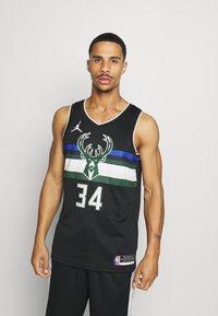 Nike Performance - NBA MILWAUKEE BUCKS GIANNIS ANTETOKOUNMPO SWINGMAN - Article de supporter - black - 0