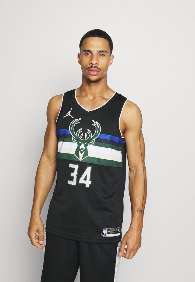 NBA MILWAUKEE BUCKS GIANNIS ANTETOKOUNMPO SWINGMAN - Vereinsmannschaften - black