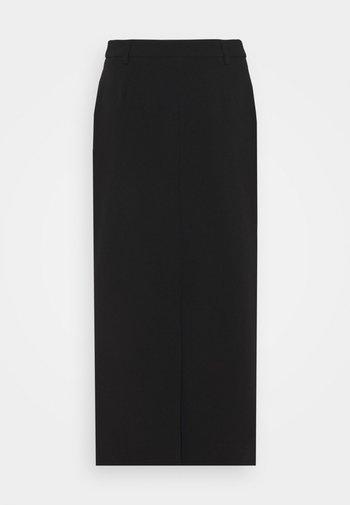 ELUM - Maxi skirt - black