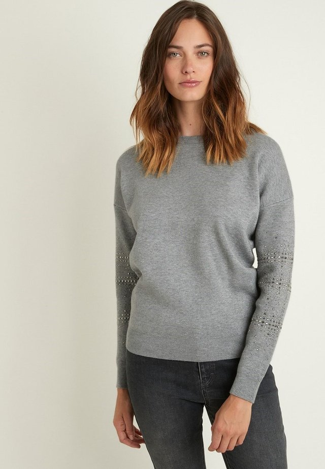Sweater - gris chiné