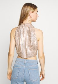 Lace & Beads - BEATLE - Bluse - pink - 2