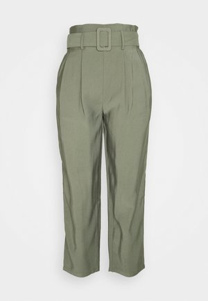Smart Pant with Belt - Bukse - khaki