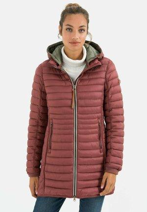 MIT STEHKRAGEN - Down coat - rosewood