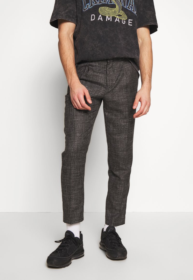 Shelby & Sons - ELDRED TROUSER - Pantaloni - charcoal