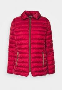 Lauren Ralph Lauren - MATTE FINISH SHORT JACKET - Light jacket - red - 5