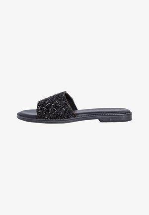 Mules - black glam
