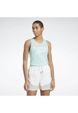 ELEMENTS REECYCLED WORKOUT TANK - Top - blue