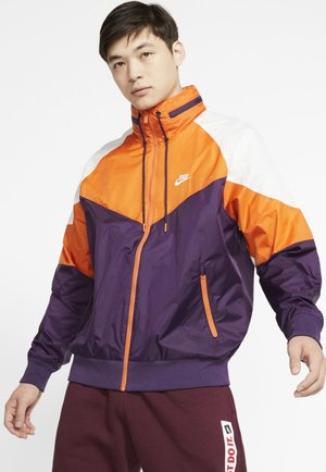 Tunn jacka - mauve/orange/off-white