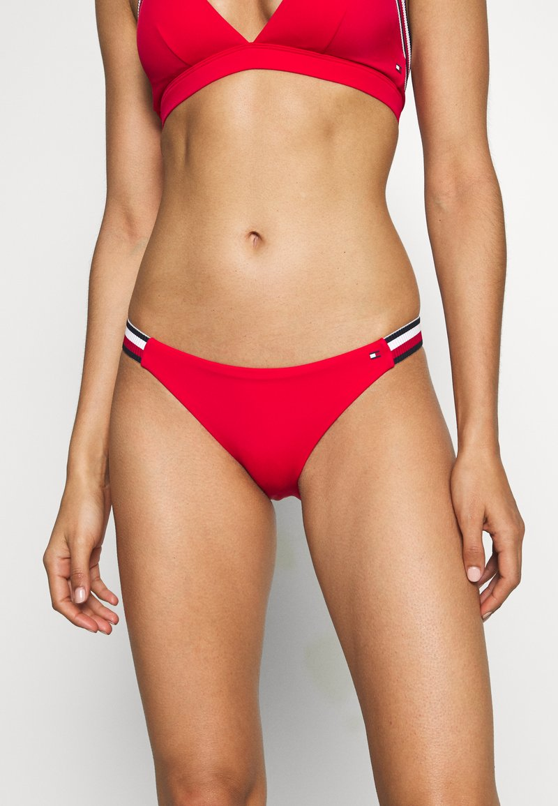 Tommy Hilfiger - CORE SIGNATURE CHEEKY - Bikini bottoms - red glare