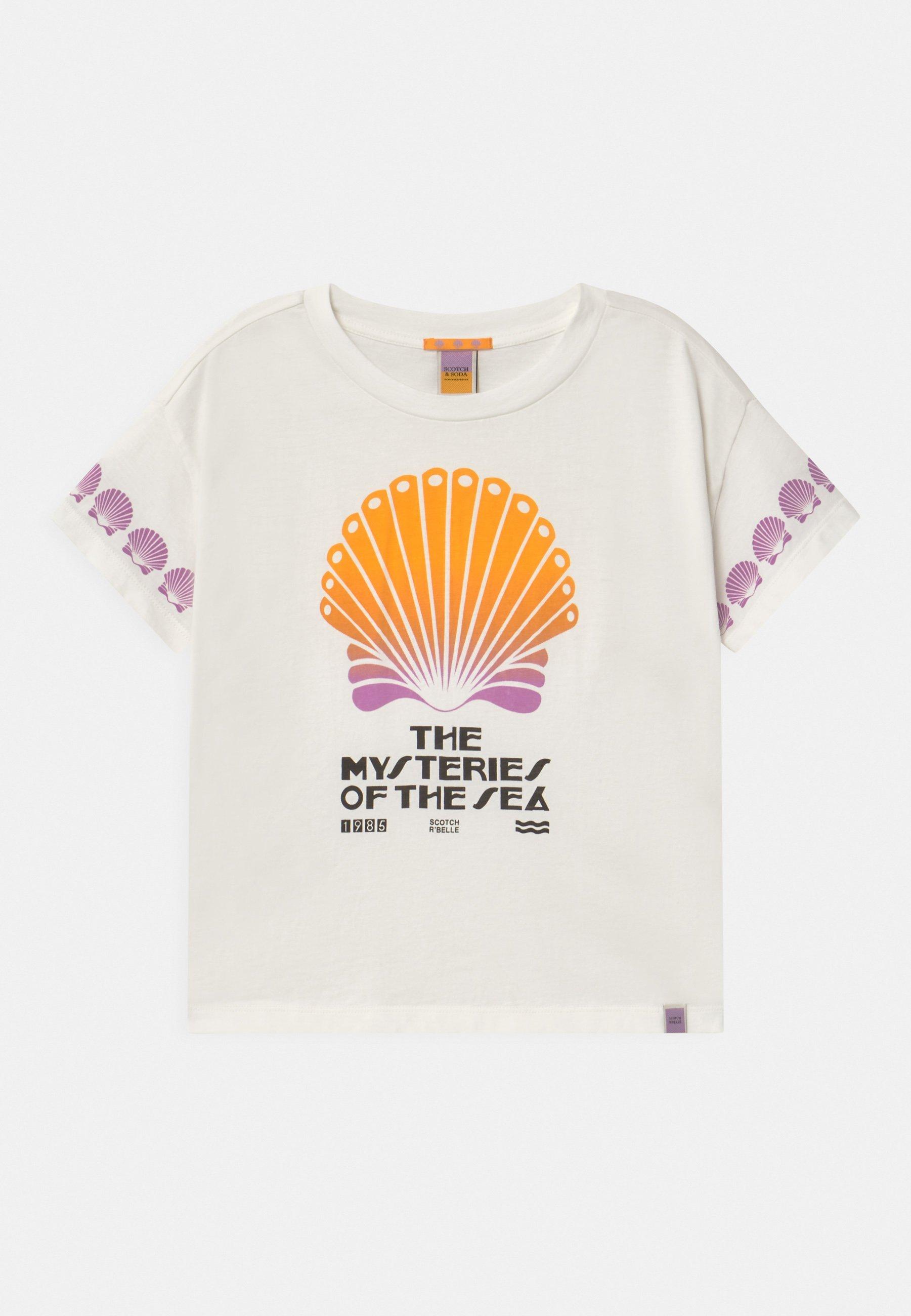 Kids BOXY SHORT SLEEVE WITH ARTWORKS - Print T-shirt