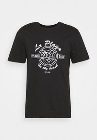 Only & Sons - ONSPINE LIFE TEE - Printtipaita - black - 3