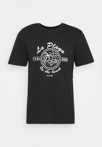 ONSPINE LIFE TEE - Print T-shirt - black