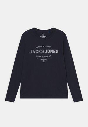 JJEJEANS TEE - Langærmede T-shirts - navy blazer