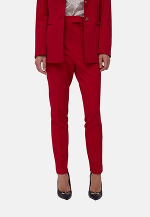 BISTRETCH - Trousers - rosso