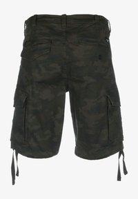 Reell - Shorts - black camo - 1