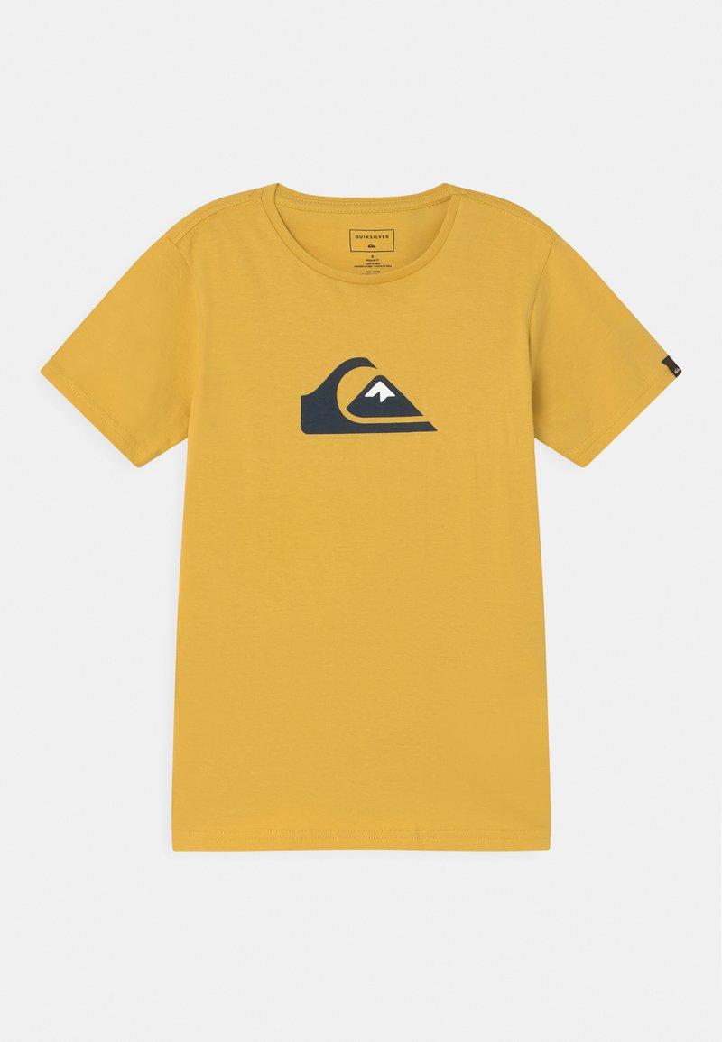 Quiksilver - LOGO  - Print T-shirt - rattan