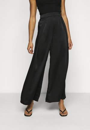 LADIES TROUSERS - Trousers - black