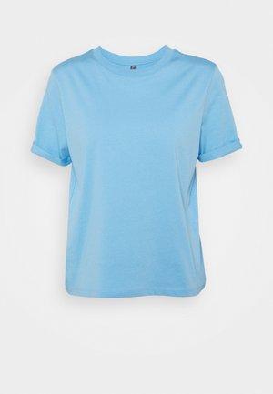 PCRIA FOLD UP SOLID TEE - Basic T-shirt - little boy blue