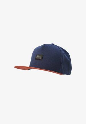 Cap - mottled blue