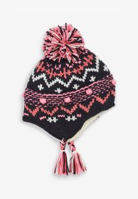 Next - FAIRISLE PATTERN TRAPPER - Beanie - blue - 0