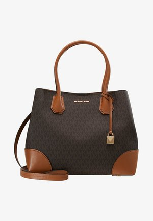 MERCER CENTER ZIP TOTE - Sac à main - brown/acorn