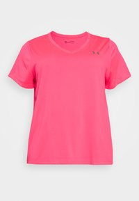 Under Armour - TECH - T-shirt basic - cerise - 0