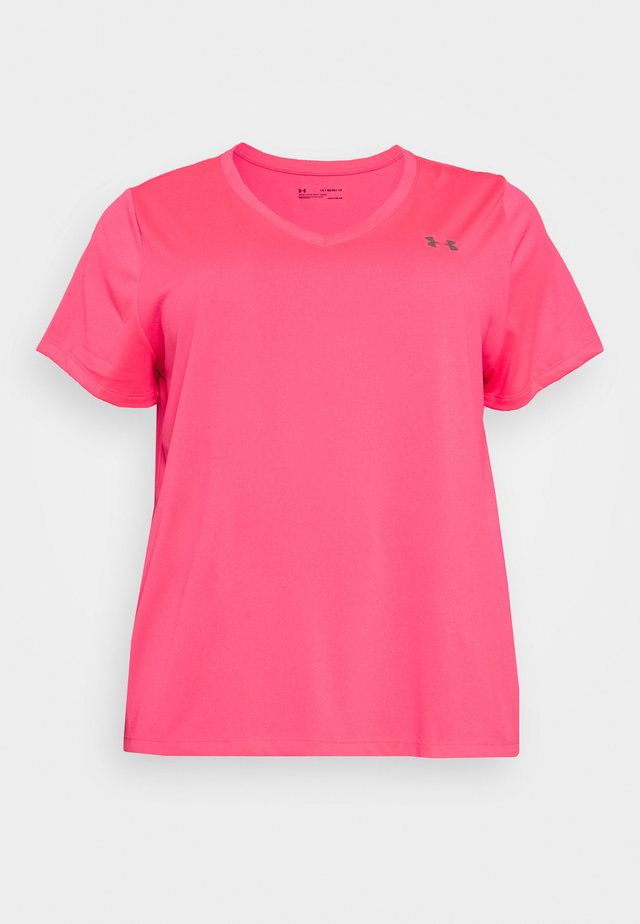 TECH SOLID - T-shirt basic - cerise