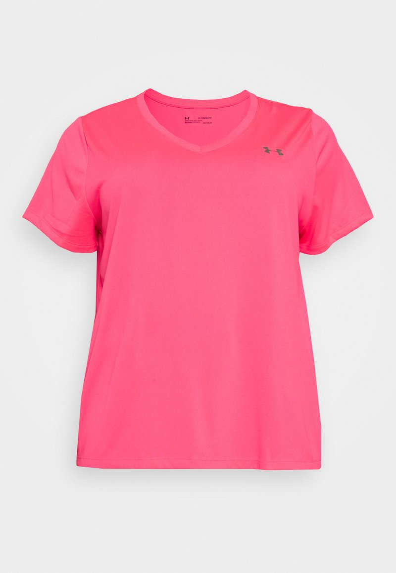 Under Armour - TECH - T-shirt basic - cerise
