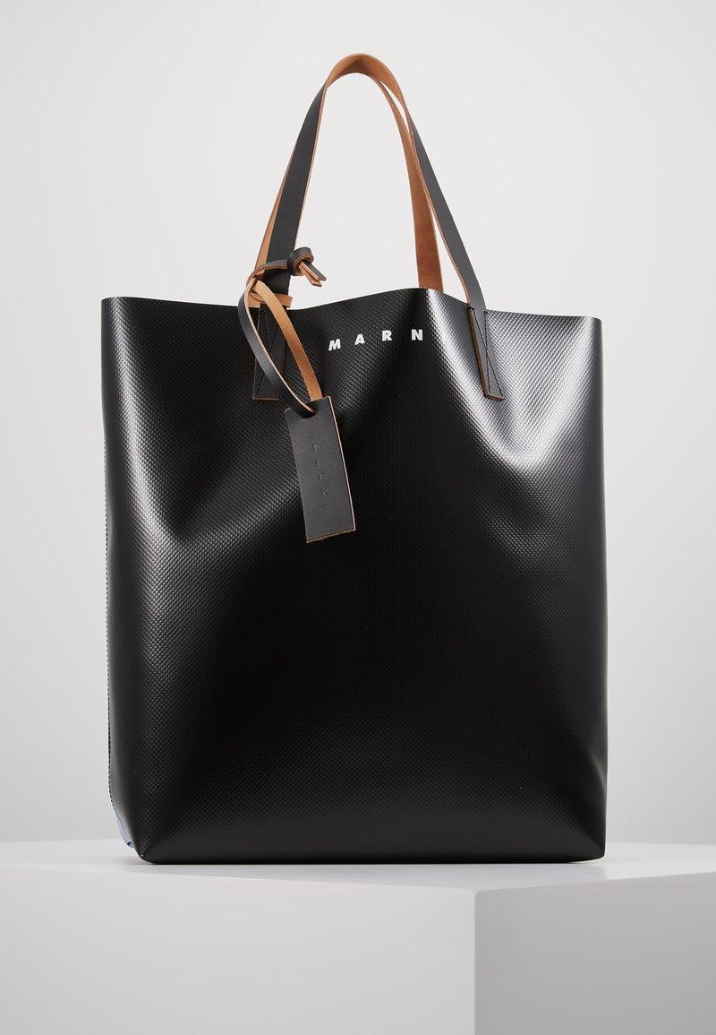 Marni - Shopping Bag - black/blue
