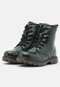 TOM TAILOR - Lace-up ankle boots - green - 2
