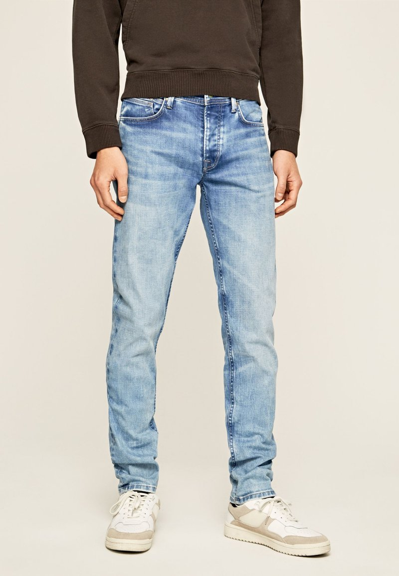 Pepe Jeans - CHEPSTOW - Straight leg jeans - blue