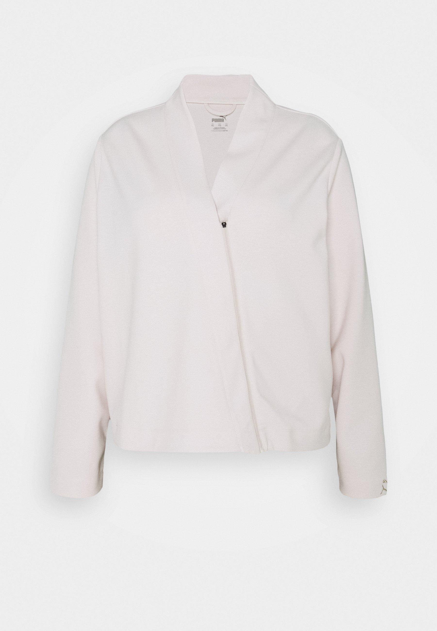 Women EXHALE COVER UP PLUS SIZE - Zip-up sweatshirt