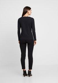 comma - HOSE - Trousers - black - 3