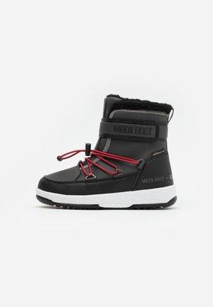 BOY WP - Winter boots - black /castlerock