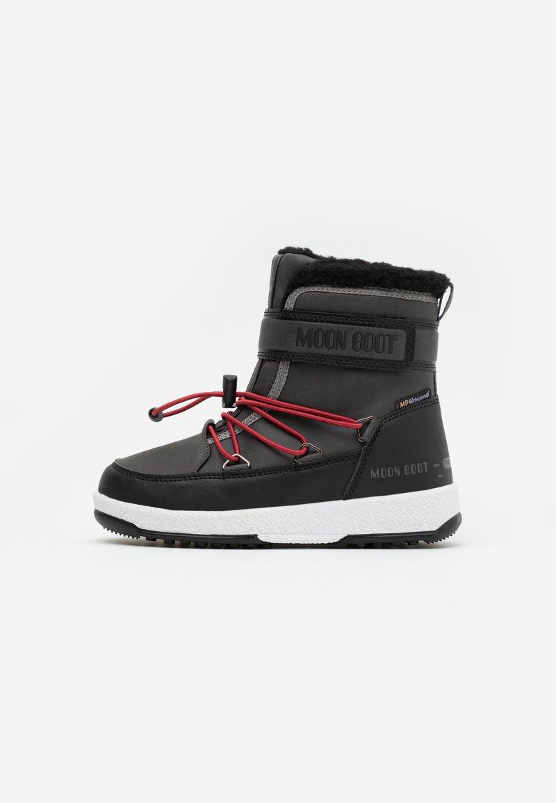 Moon Boot - BOY WP - Zimní obuv - black /castlerock