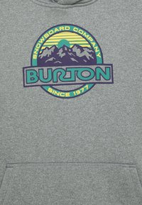 Burton - OAK - Mikina skapucí - gray heather - 2
