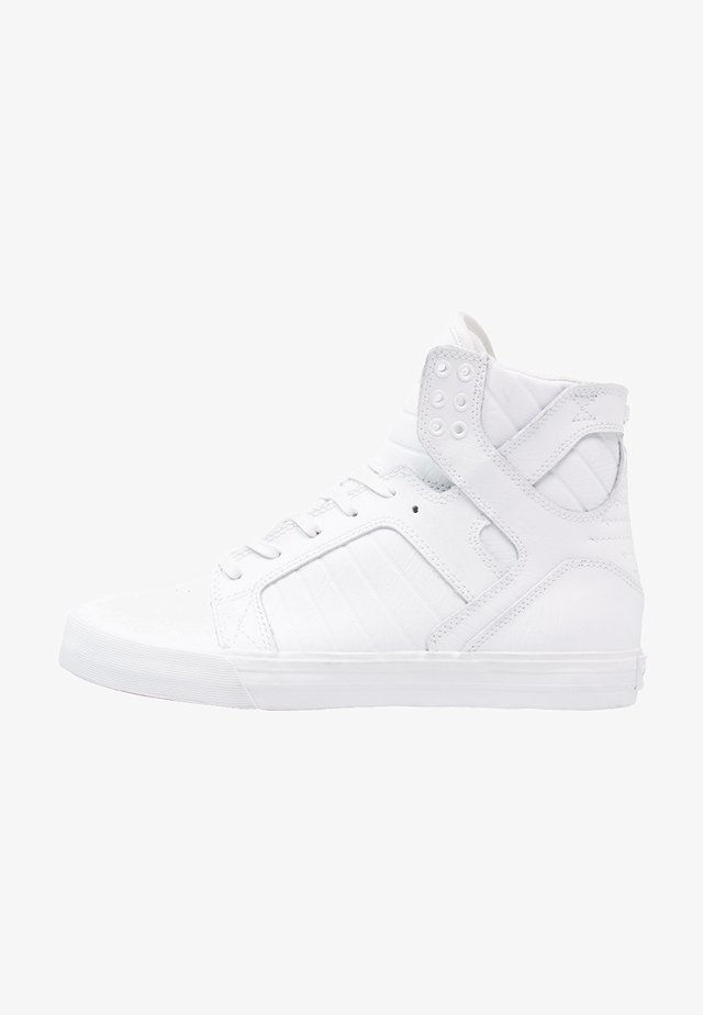 SKYTOP CLASSIC - High-top trainers - white/red