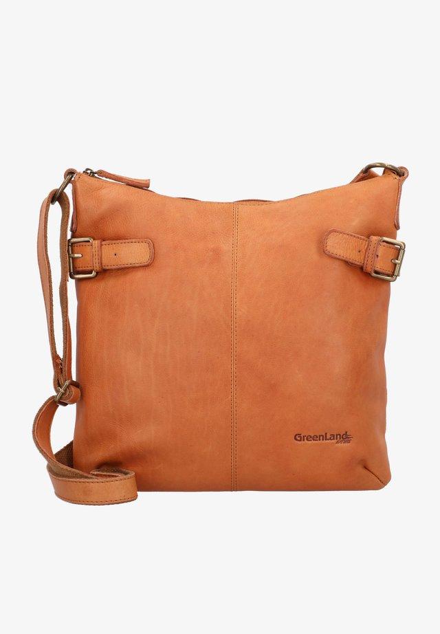 YUCATAN  - Across body bag - cognac