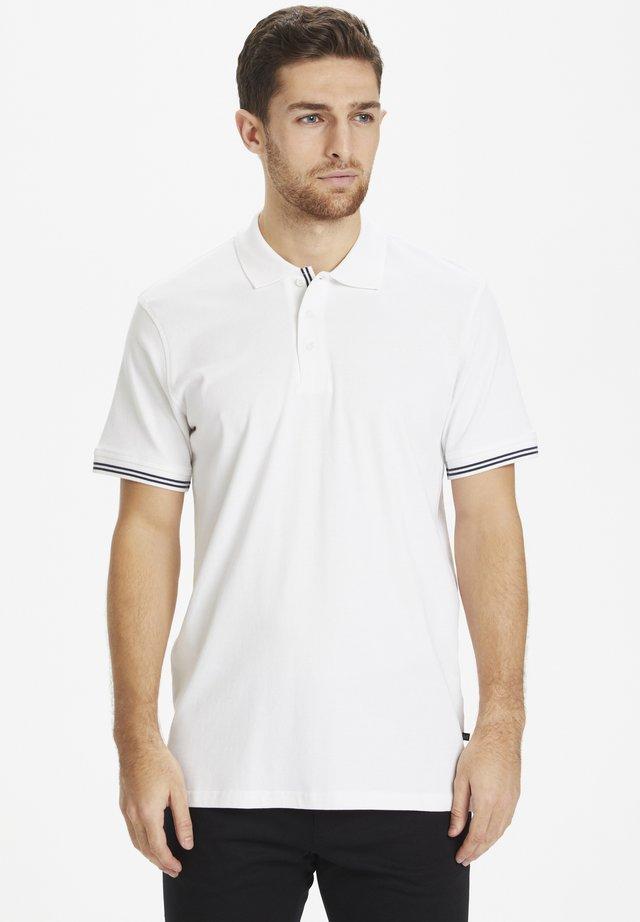 MAPOLEO DS BASIC POLO - Koszulka polo - white