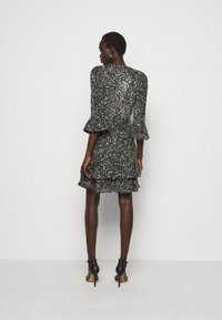 MICHAEL Michael Kors - RUFFLE MINI  - Cocktail dress / Party dress - silver-coloured - 2