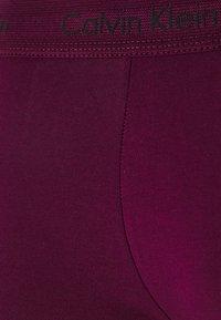 Calvin Klein Underwear - LOW RISE TRUNK 3 PACK - Shorty - lost blue/wild fern/raisin torte - 7