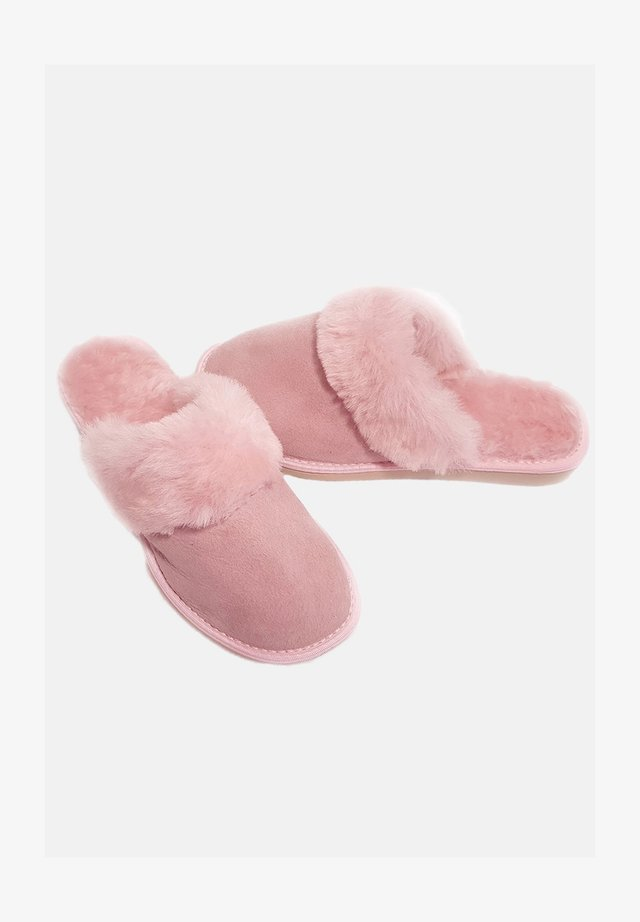 Pantoffels - flamingo pink