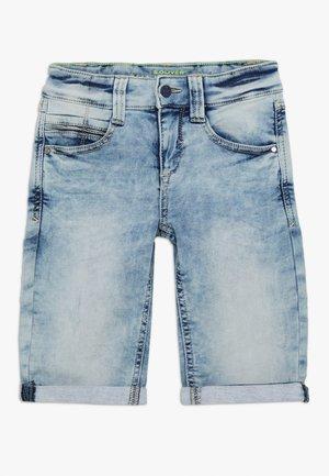 BERMUDA - Jeansshorts - blue denim