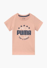 Puma - TIME FOR CHANGE TEE - T-shirt con stampa - pink sand - 0