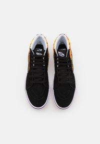 Vans - COMFYCUSH SK8 UNISEX - Zapatillas altas - black/true white - 3