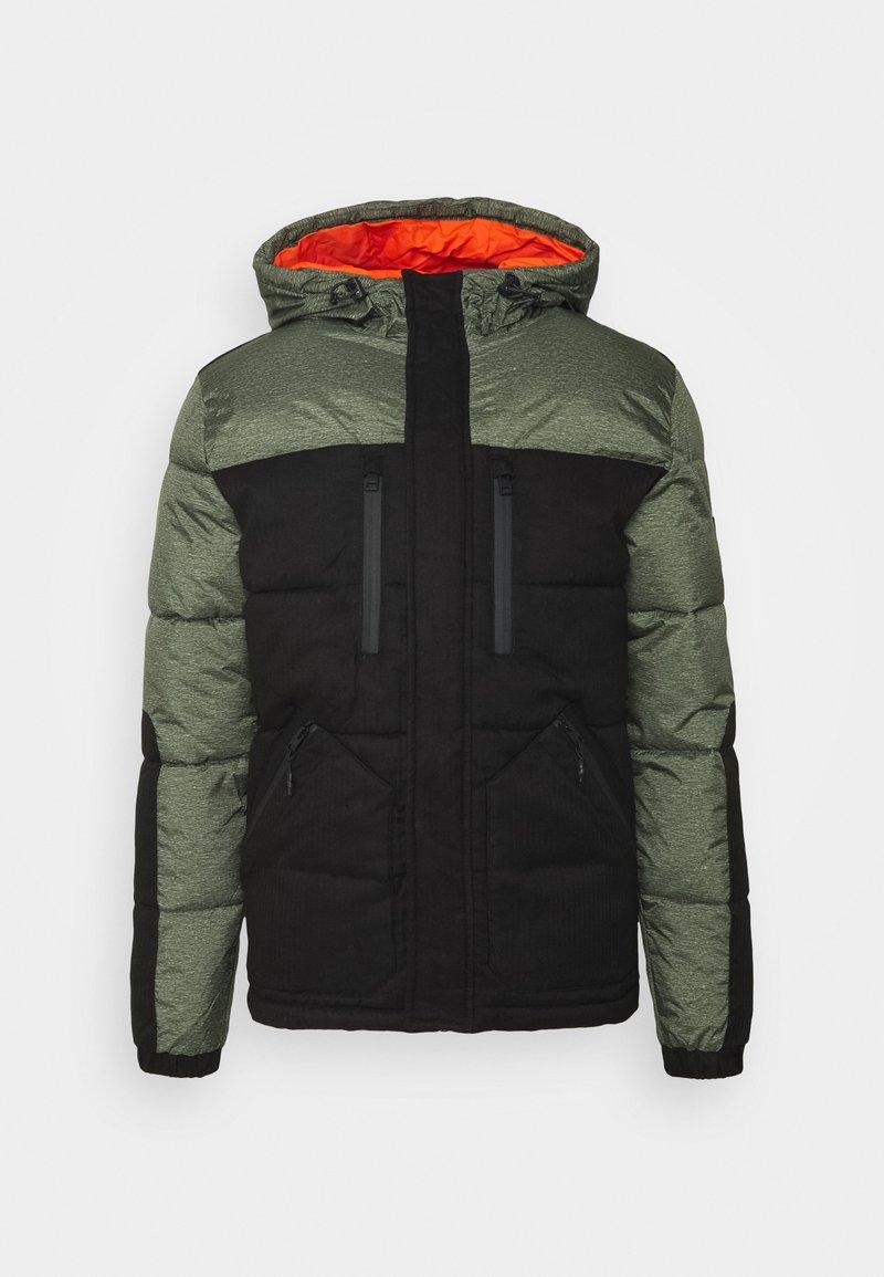 Jack & Jones - JCOBOLT PUFFER - Winter jacket - forest night